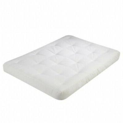 futon mattress 6 liberty white natural 100