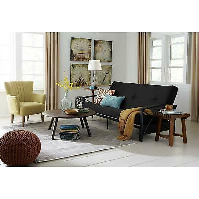 Futon Sleep Sofa Bed Full Couch Spare Black