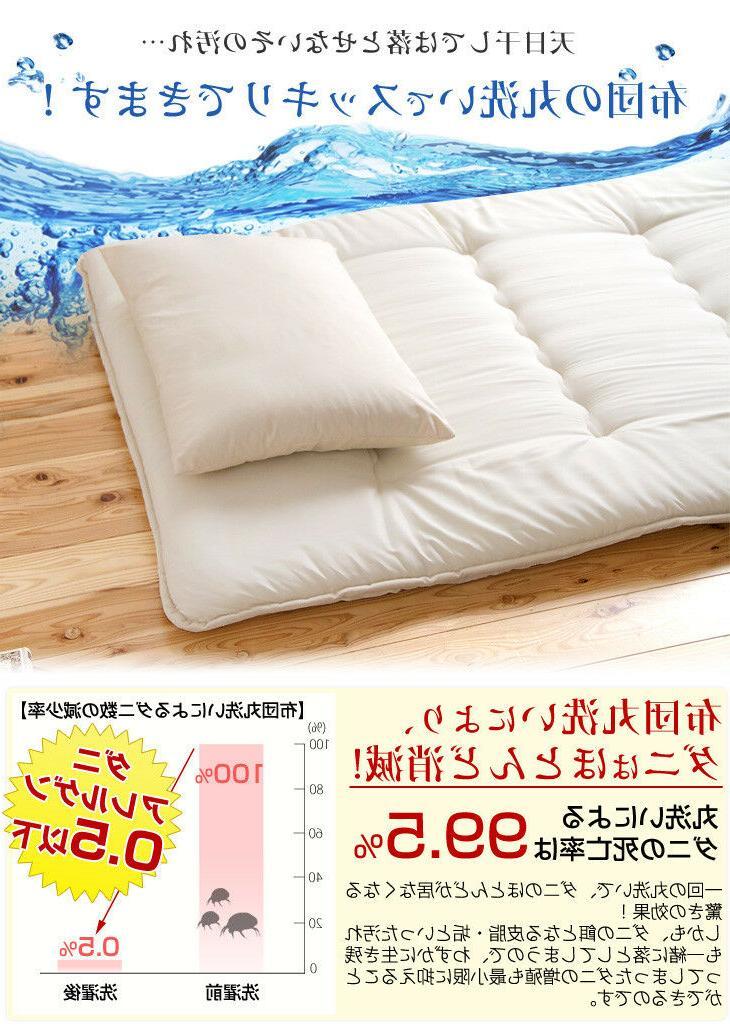FUTON mattress in JAPAN be folding New white Brown