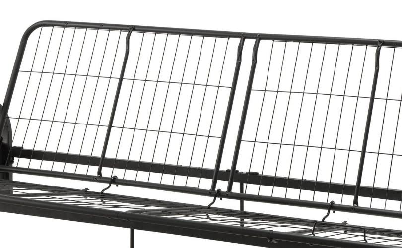 Futon Metal Size Premium Black Couch Brandnew