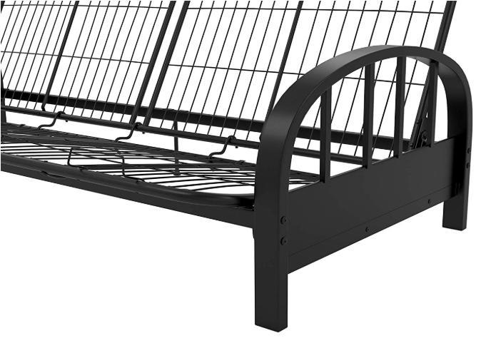 Futon Size Sofa Black Dorm Couch Brandnew