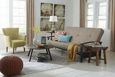 Futon Sofa Bed Size Couch Guest Room