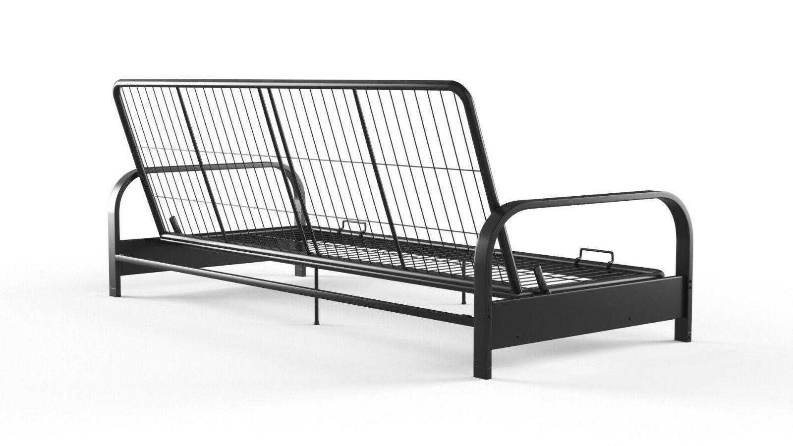 Futon Sleeper Sofa Bed Frame Mattress