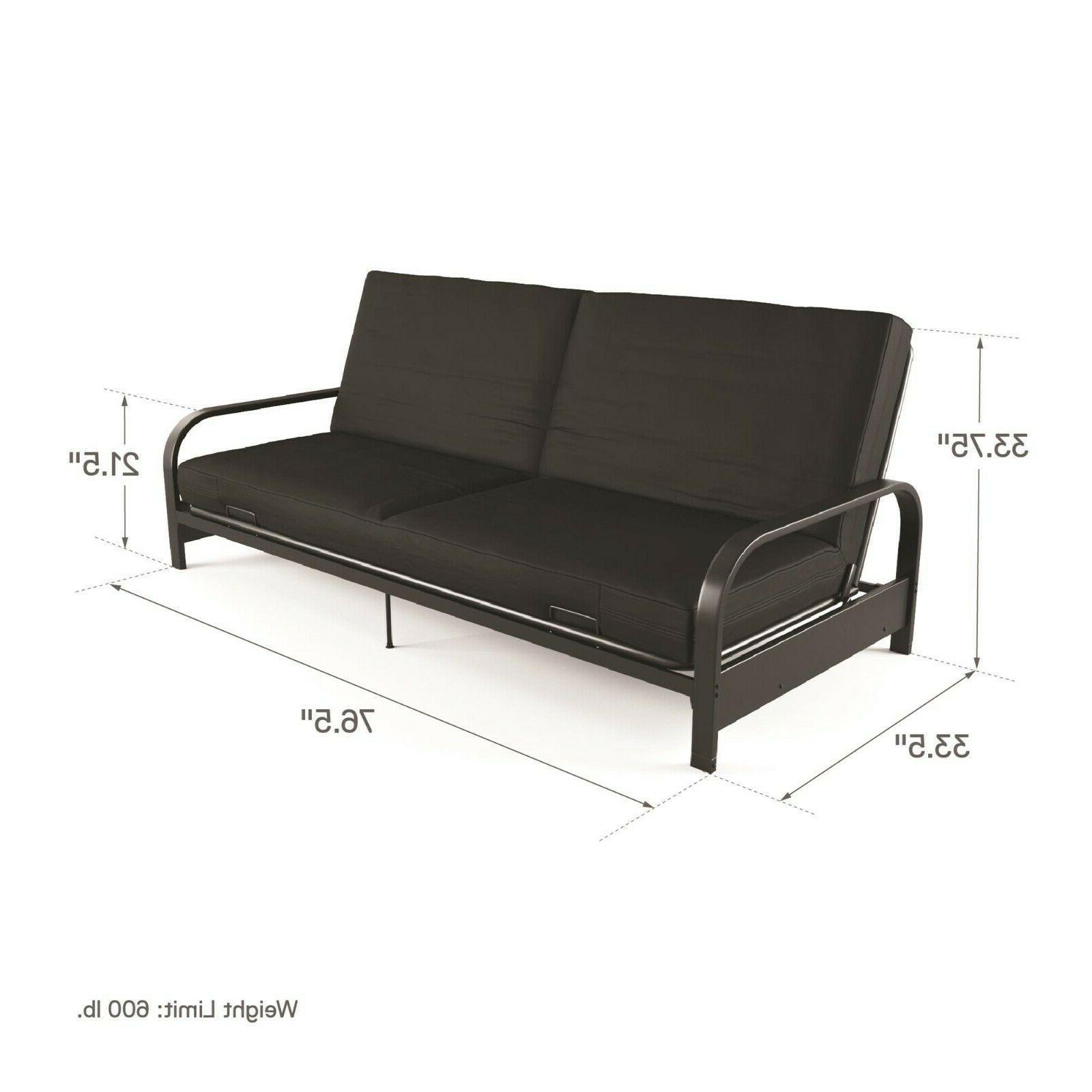 Futon Sleeper Couch Bed Mattress Loveseat Full