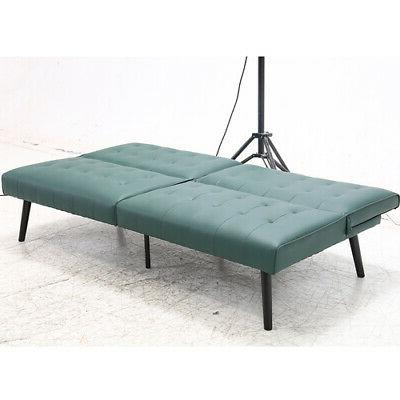 Futon Bed PU Convertible Room