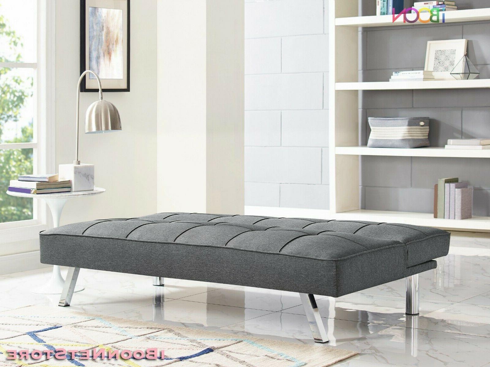 Futon Sofa Bed Convertible Foldable Full Mattress