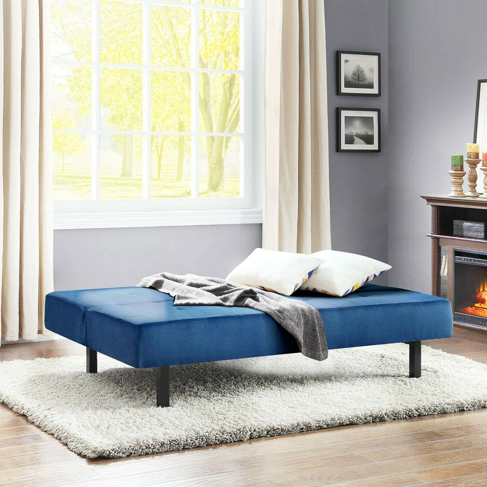 Futon Sofa Sleeper Convertible Couch Foldable Twin Size