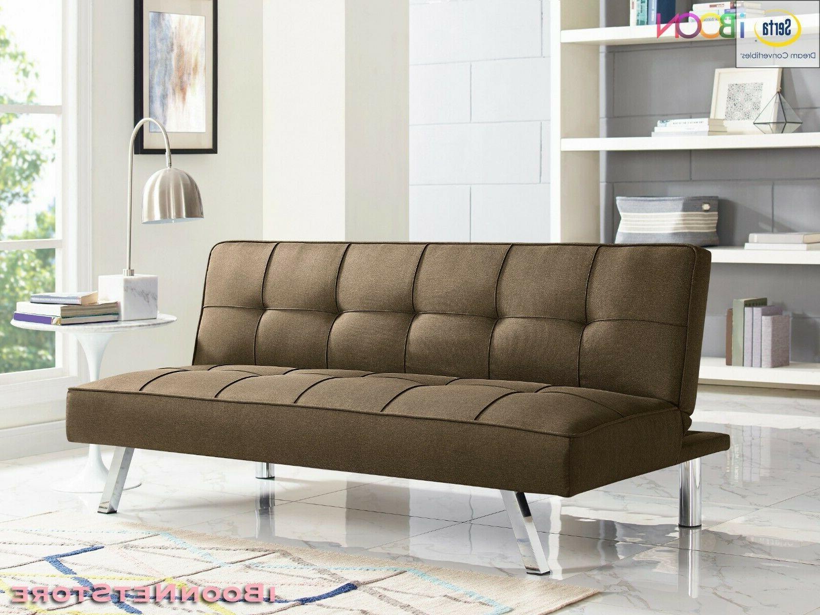 Futon Sofa Sleeper Foldable Size With Mattress