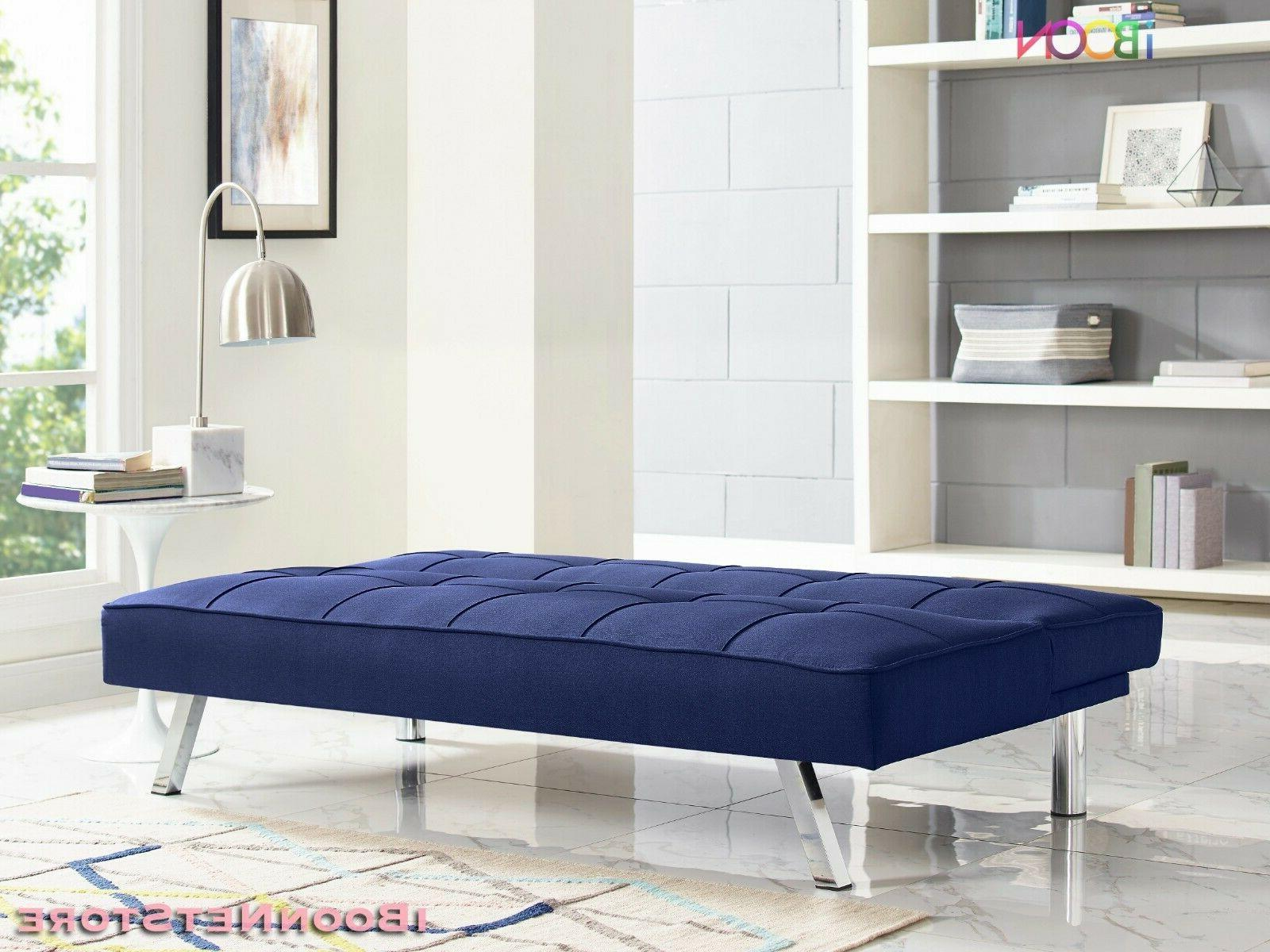 Futon Sofa Bed Convertible Couch Foldable Mattress