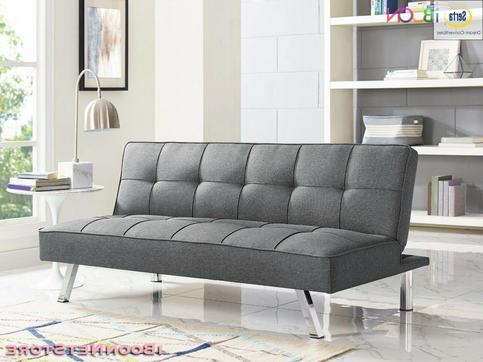 Futon Convertible Seat Foldable Size Mattress