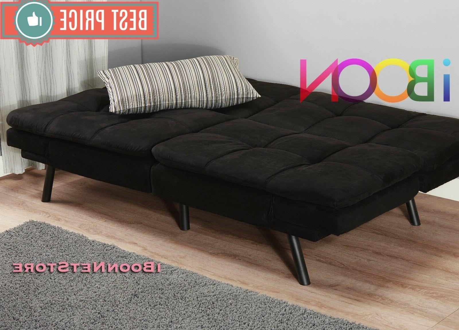 Memory Foam Futon Sofa Couch Foldable FULL