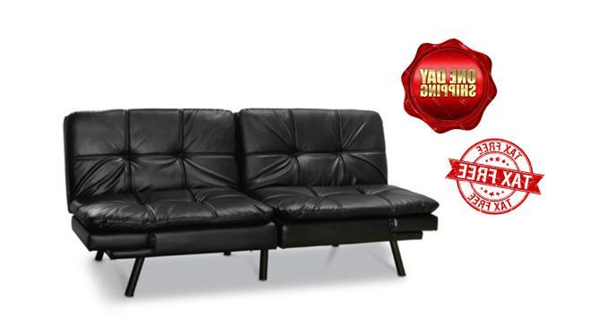 memory foam futon sofa bed couch sleeper