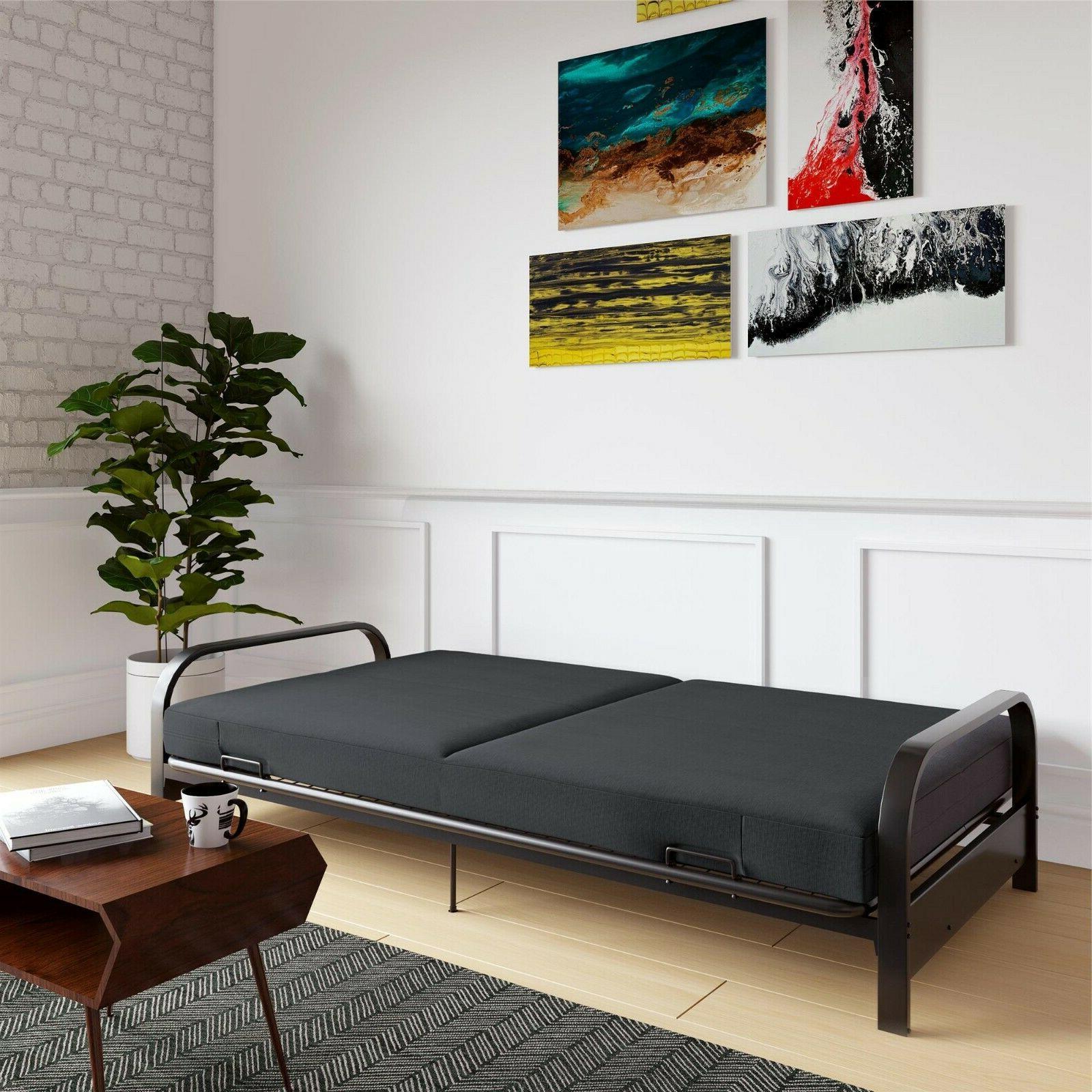 Futon Sleeper Bed Frame Mattress Loveseat Size