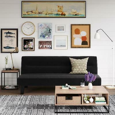 modern convertible futon sofa bed sleeper adjustable