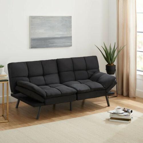 modern foam futon sofa bed couch sleeper