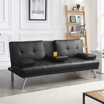 Modern PU Leather w/ Pillows Design Assembly