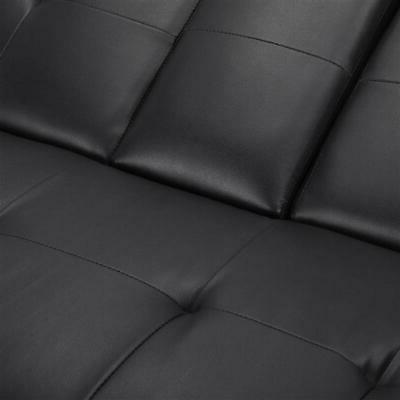 Modern PU Futon Pillows Ergonomic Design Assembly