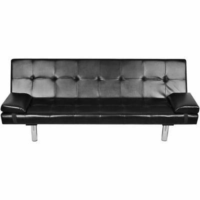 Modern Leather Bed Lounge Living