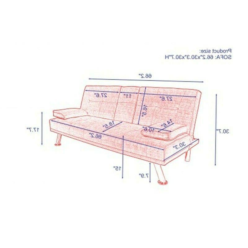 Modern Sofa 3 Futon