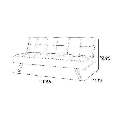 Futon Sofa Convertible 3 Mattress