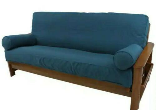 premium futon cover full size skirted