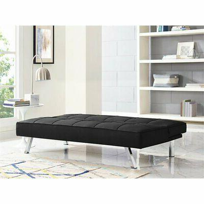 LifeStyle Tufted Sleeper in Black