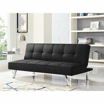 LifeStyle Tufted Sofa Black