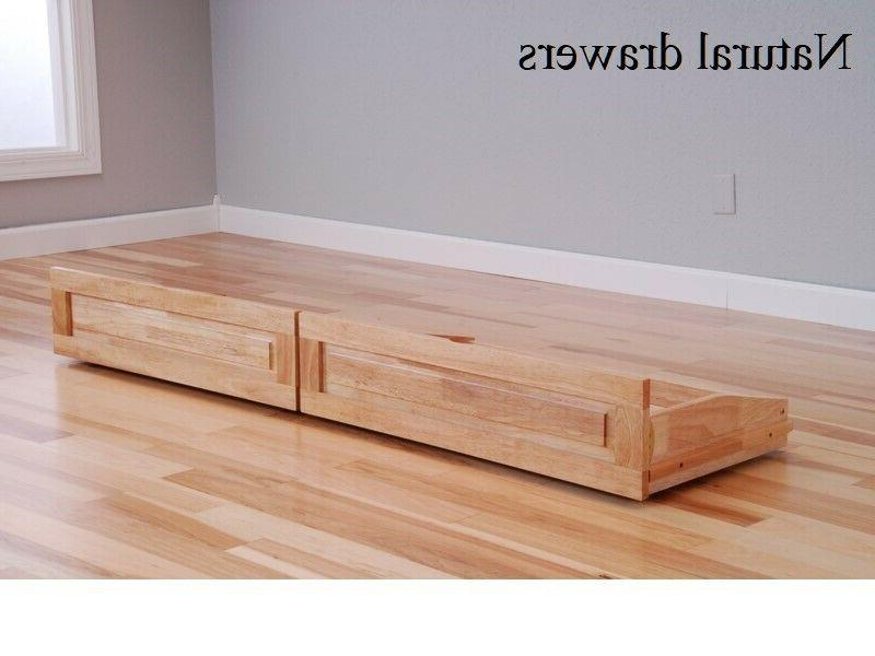 Set 2 castered drawers futon, of