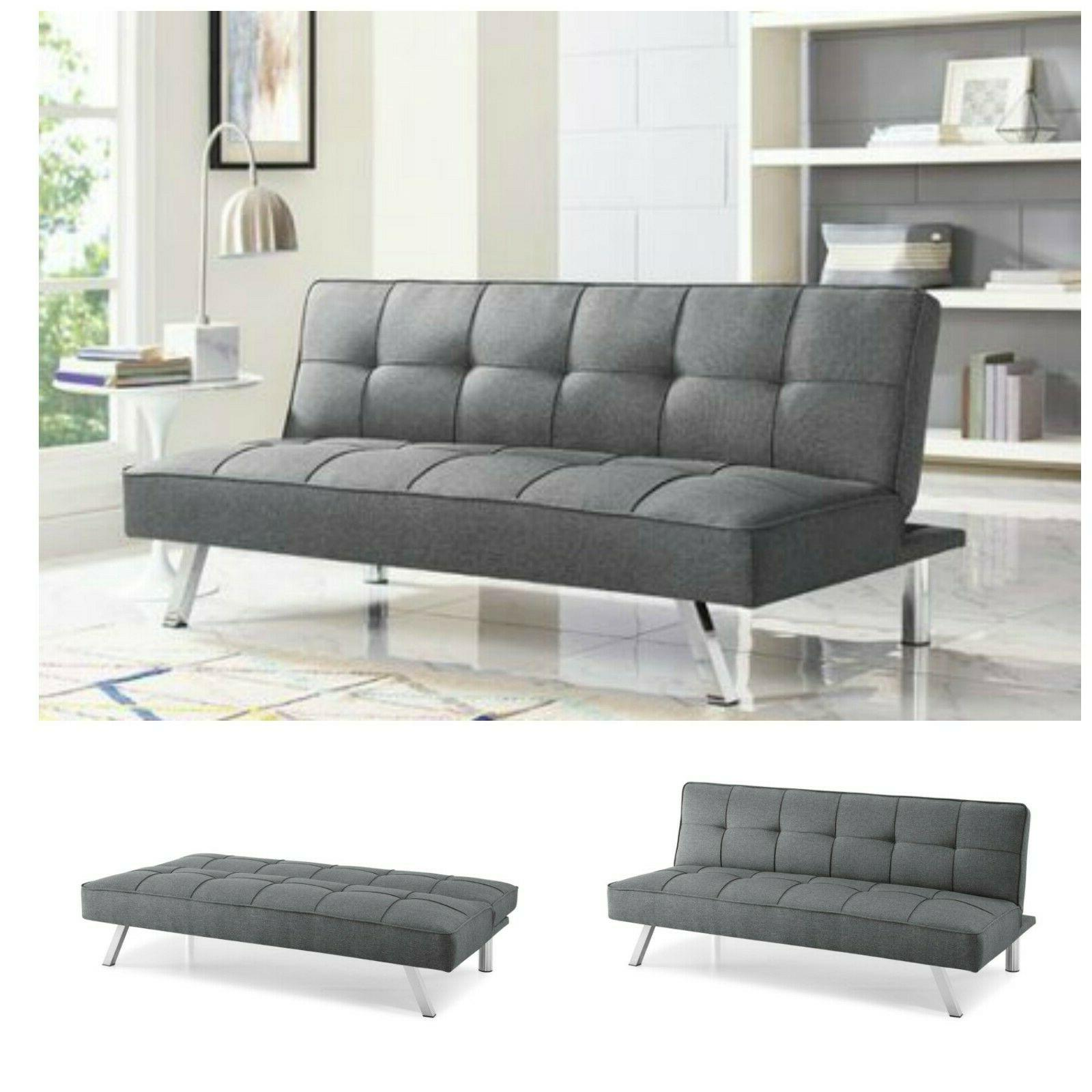 sleeper sofa bed grey gray convertible couch