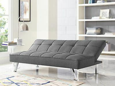 Sofa Futon Convertible Bed Couch Modern Seat Furniture
