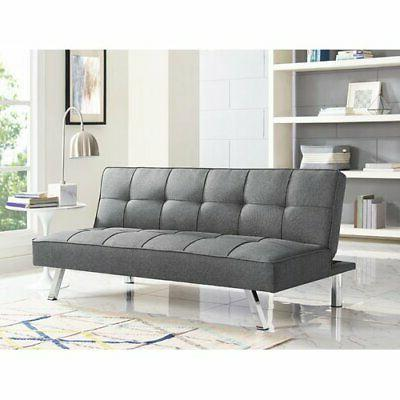 sofa futon convertible bed couch living room