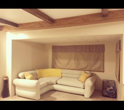 Futon Sectional Sleeper Room Furniture Loveseat