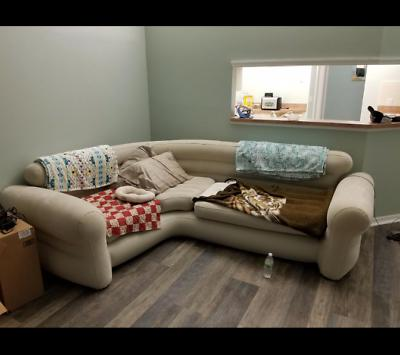 Futon Couch Sectional Living Room Furniture Loveseat