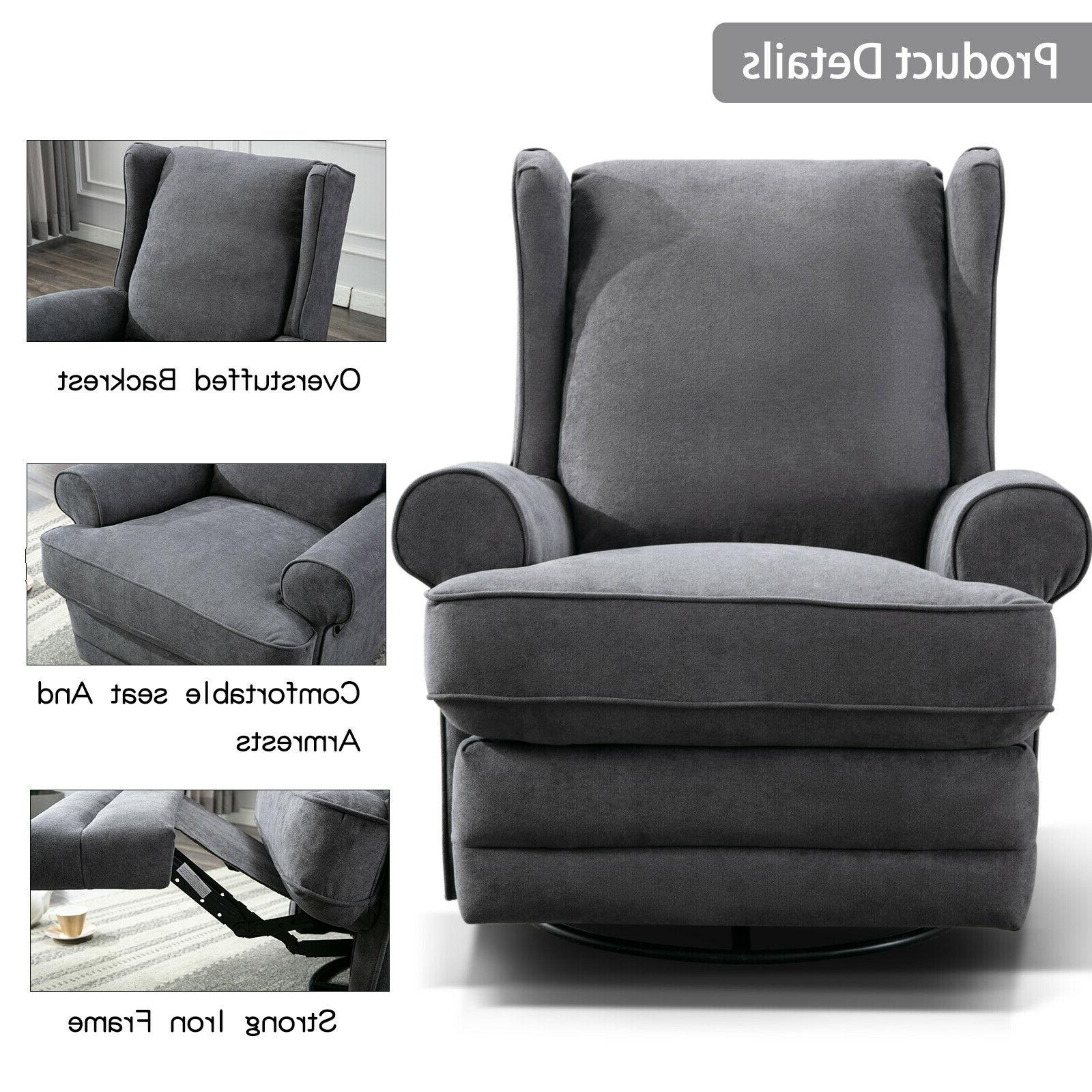 Swivel Recliner Baby Padded Seat