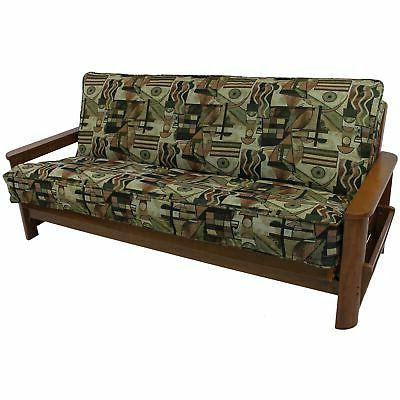Blazing Needles Tapestry Full Size Corded Futon Cover Spin C