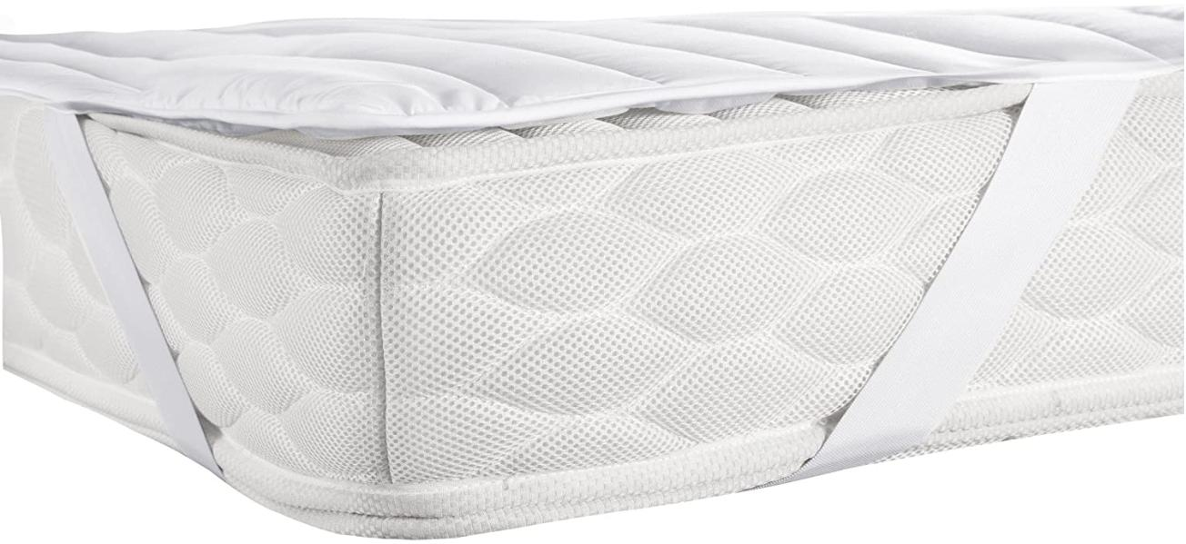 White Pull Out Queen Size Pad Waterproof Sleep