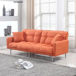 Large Sofa Splitback Futon Living Room Couch Bedroom Bed Sle