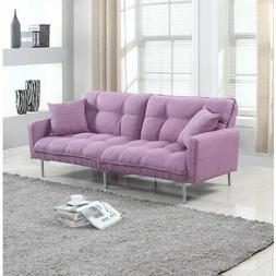 Latitude Run Winslow Modern Plush Tufted Convertible Sofa