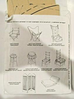 McCall's 6474_Home Decor Pattern + Book_Chair & Futon Covers