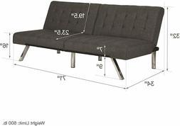 Memory Foam Futon Sleeper Sofa Bed Couch Convertible Foldabl