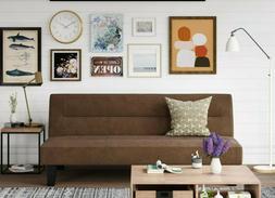 Modern Convertible Futon Sofa Bed Full Size Sleeper Microfib