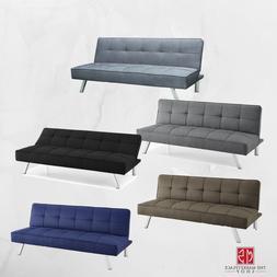 Modern Sofa Bed SERTA Futon Couch Convertible Sleeper Microf