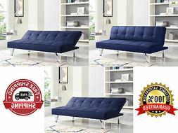 Modern Sofa Bed  SERTA Futon Couch Convertible Sleeper Micro