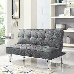 Modern Sofa Bed SERTA Futon Couch Convertible Sleeper Microf