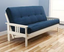 Kodiak Furniture Monterey Suede Futon and Mattress Antique W