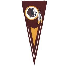 NFL Washington Redskins Burgundy Premium Quality Pennant