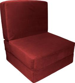 Epic Furnishings Nomad Flip Chair Sleeper Bed, Microfiber Su