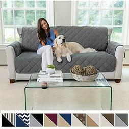 Premium Futon Slipcovers Reversible Sofa Slipcover, Seat Wid