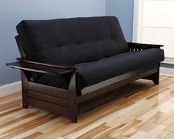 "Kodiak Queen 87"" espresso Phoenix futon with or without choi"