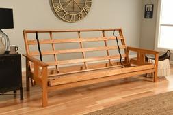 queen size eldorado butternut futon frame by
